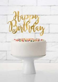 Ukras za tortu Happy birthday