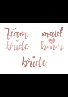 tattoos team bride