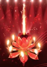 Glazbena svijećica - Lotus