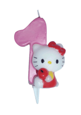 Hello Kitty svjećica - broj