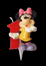 Minnie Mouse svjećica - broj