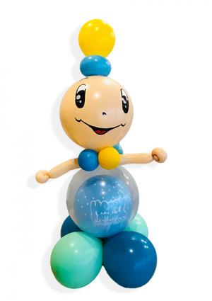 Figura beba od balona