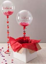 Balon za Valentinovo