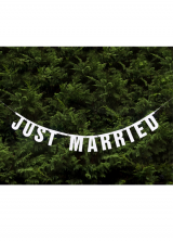 Natpis Just Married