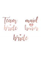 tattoos team bride