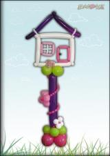 Kućica na stupu