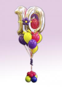 Kup 10 balona sa folijama