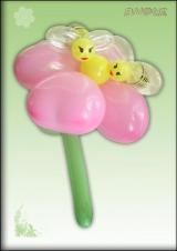 Cvijet s pčelama