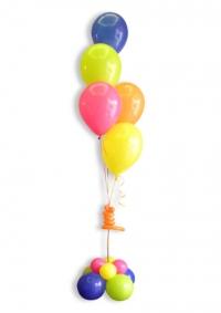 Kup 5 helij balona sa postoljem od balona