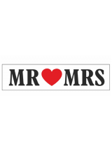 Tablica Mr & Mrs