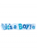 Natpis it's boy