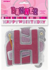 Baner Happy birthday rozi