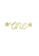 Natpis 0ne-za prvi rođendan