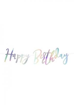 Natpis Happy birthday