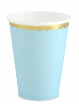 Papirnate čaše baby plave