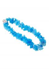 Ogrlica Hawaii -  svijetlo plava