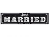 Tablica Just Married