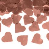 Top konfeta rose gold srca