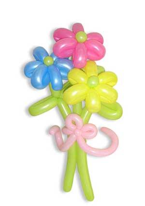 Buket cvijeća od balona