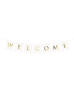 Banner Welcome