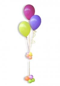 Kup 3 balona sa postoljem od balona
